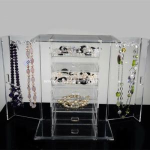 Custom Clear Acrylic Jewelry Display Cases (BTR-A2079) pictures & photos