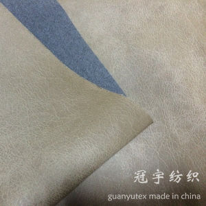 Gold Stamping Suede Fabric for Sofa pictures & photos
