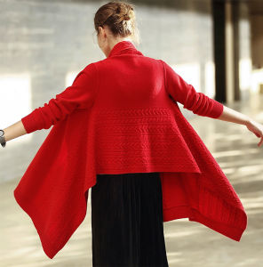 Women′s Cashmere Sweater& Shawl (13brdw170) pictures & photos