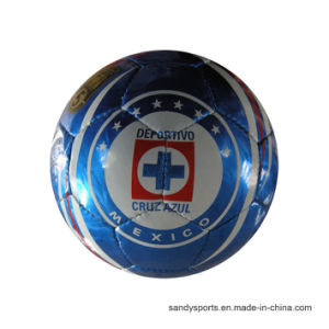OEM Logo PVC Foaming Machine Sewing Soccerball pictures & photos