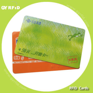 Nfc Stickers and Cards with Ntag216 Chip (GYRFID) pictures & photos