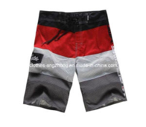 Fashion Summer Polyester Leisure Beach Surf Shorts (BS-02)