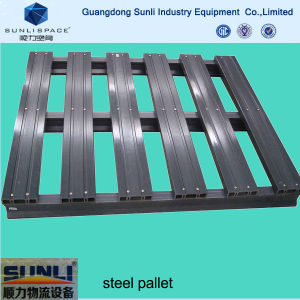 Standard Shipping Price Steel Reinforced Pallet for Rack pictures & photos