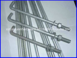 Grade 4.8 Hot DIP Galvanized Foundation Bolts pictures & photos