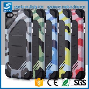 for iPhone 6 Camouflage Hybrid TPU+PC Cell Phone Case iPhone 6s pictures & photos