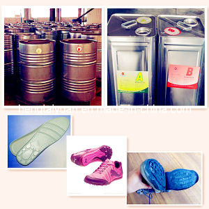PU Resin for Sole of Casual Shoes for Both Men and Women Zg-P-7165/Zg-I-7249 pictures & photos
