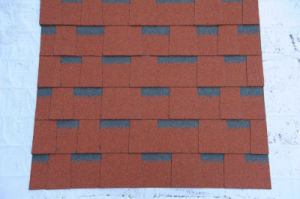 Laminated Colorful Asphalt Roofing Tile