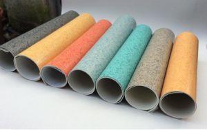High Quality Decorative PVC Vinyl Laminate Flooring in Rolls Floor pictures & photos