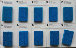 6, 8, 10, 15mm X 1.0, 1.5m X 10m Silicone Sponge Sheet, Silicone Foam Sheet with Open Cell pictures & photos