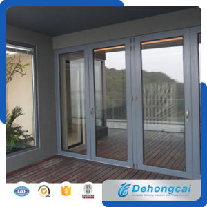 Customized Design Combined Casement Double Glass Aluminum Window and Door pictures & photos