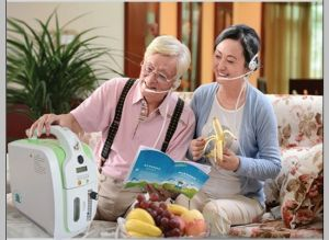 Portable AC&DC Pulse Oxygen Concentrator pictures & photos