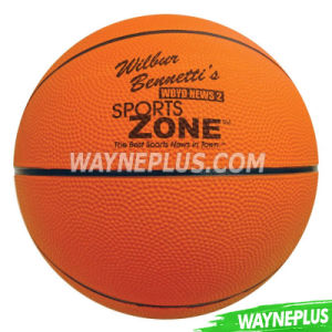 Custom Rubber Official Size 6 Basketball pictures & photos