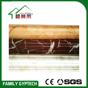 Marble and Wood Color PVC Cornice for Floor Skitting pictures & photos