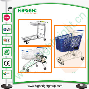 Ten Years Manufacturer of Different Types Shopping Trolley pictures & photos