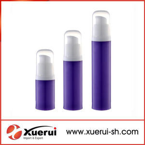 PP Plastic Cosmetic Airless Pump Bottle pictures & photos