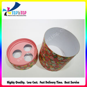 Fancy Design Matte Lamination Cosmetic Product Paper Cylinder Packaging Box pictures & photos