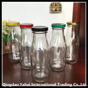 200 / 300ml Glass Storage Bottle with Colored Lid pictures & photos