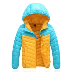 Outdoor Garments, Navy Ski Down Fleece Winter Jacket for Man
