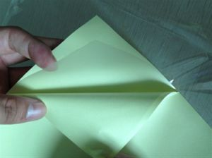 PVC Material Self Adhesive PVC Inner Sheets for Album Making pictures & photos