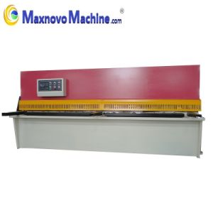Hydraulic Swing Beam Plate Shearing Machine (MM-KHT4006) pictures & photos