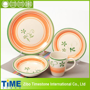 Hand Painted 20PC Ceramic Dinnerware Set (15032102) pictures & photos
