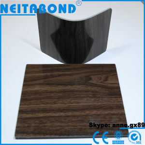 Wood PE Aluminum Composite Panel ACP with 14 Years Manufacturer pictures & photos