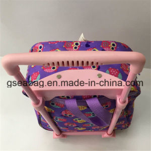 High Quality Drawbar Trolley and Backpack Multi Function Duffel Travel School Kid Bag (GB#10008-2) pictures & photos