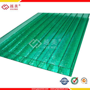 Yuemei UV Protected Plastic Lexan Sheet Twin Wall Hollow Sheet pictures & photos