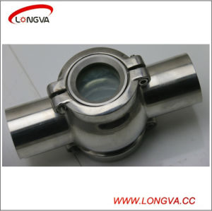 Stainless Steel Four Way Flanged Sight Glass pictures & photos