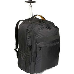 Double Shoulder Business Travel Wheeled Trolley Laptop Bag Backpack pictures & photos