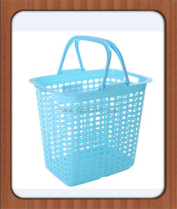 Customized Colored Small Plastic Laundry Basket for Sale