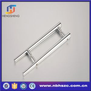 Zinc Alloy Double Sided Shower Door Pull Handle pictures & photos