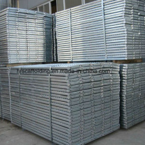Construction Pre-Galvanized Steel Scaffold Plank pictures & photos