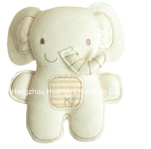 Factory Supply Organic Fabric Baby Soft Rattle Animal Toy pictures & photos
