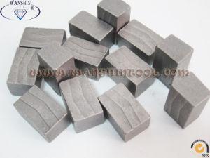 Sandstone Diamond Segment Diamond Tip Diamond Tool for Sandstone Segmentos pictures & photos