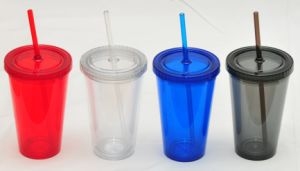 16oz Double Insulated Acrylic Tumbler with Lid pictures & photos