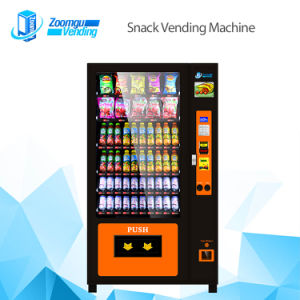 Automatic Snack Drink Vending Machine Zg-10 pictures & photos