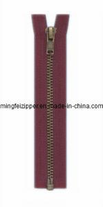 3# Bronze Open End Zipper