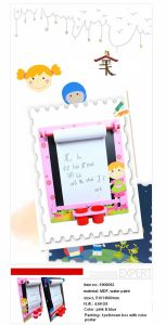 Multifunctional Wooden Wall-Mount Drawing Board & Blackboard for Kids pictures & photos