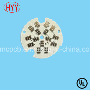 Single-Side Aluminum Core PCB Board for LED Lighting pictures & photos