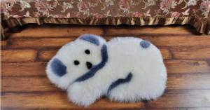 Cute Pony Animal Shape Soft Sheepskin Baby Crawl/Play Mat pictures & photos