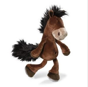 Free Shipping Nici Plush and Stuffed Toy Horse Doll, Can Be Customized, 15cm