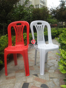 Outdoor Stackable Plastic Chair Without Armrest pictures & photos