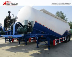 40000L-60000L Dry Powder Transport Tanker Cement Bulker pictures & photos