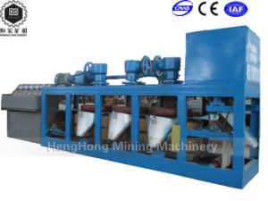 Three Disc Dry Type Magnetic Separator with High Intensity