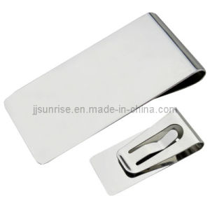 Stainelss Steel Money Holder (JJ-SS-MC01-01(shiny))