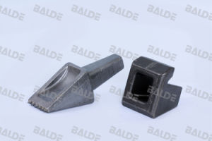 Flat Bullet Teeth for Foundation Drilling Cutting Tools (FZ80 FZH80)
