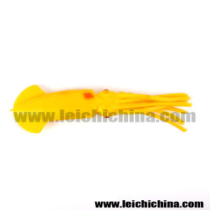 High Class Luminious Artificial Soft Squid Lure for Fishing pictures & photos