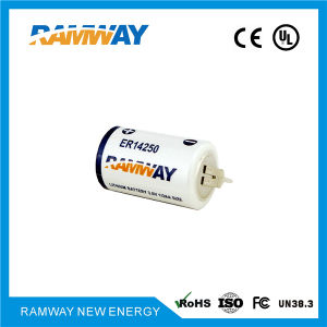 Er14250 3.6V High Capacity 1200mAh Battery for Smart Sanitary Ware pictures & photos