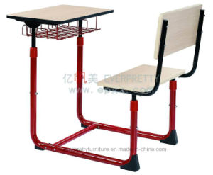 Classroom Furniture Student Single Fixed Desk Chairs pictures & photos